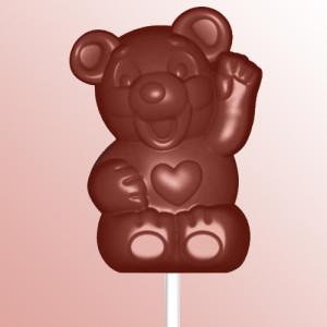 Bear-lollipop-polycarbonate-chocolate-mold
